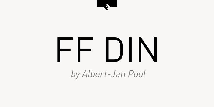 ff din std black font free download