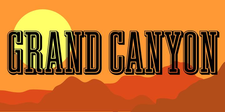 Grand Canyon | Webfont & Desktop font | MyFonts
